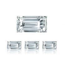 Diamantes calibrados talla baguette
