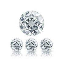 Diamantes calibrados talla brillante