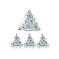Diamantes calibrados talla triangular
