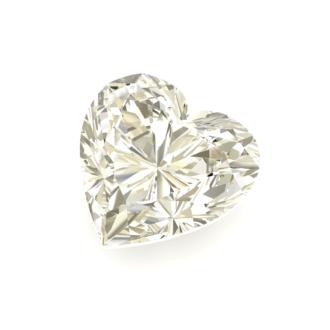 Diamante talla corazón brillante