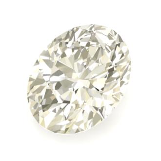 Diamante talla oval brillante