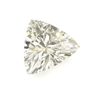 Diamante talla triangular