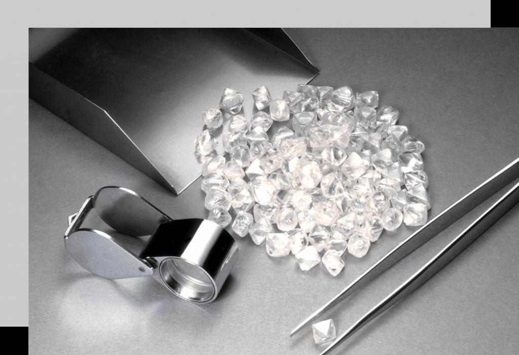 Diamantes en bruto · Asesoramiento, valoración y venta