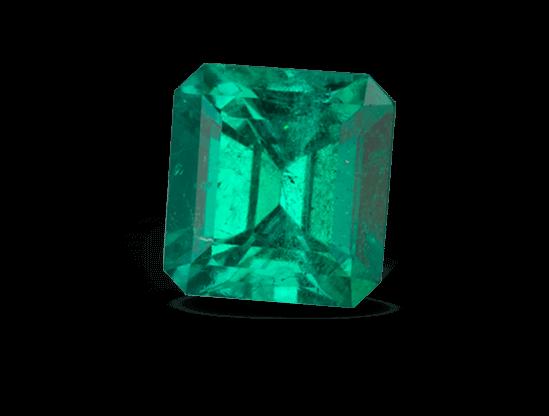 Color de las esmeraldas