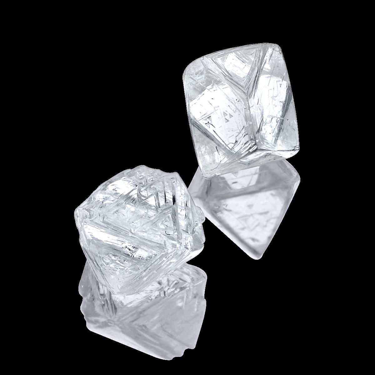 Vender diamantes en bruto